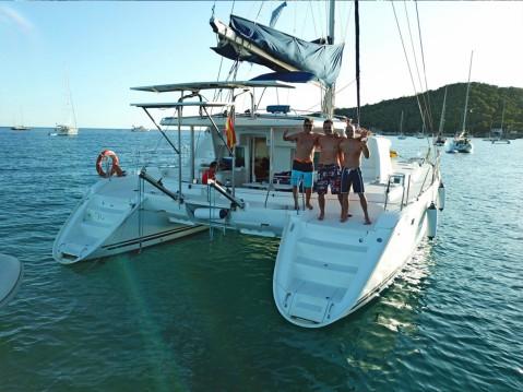 Location bateau Pointe-à-Pitre pas cher Lagoon 440
