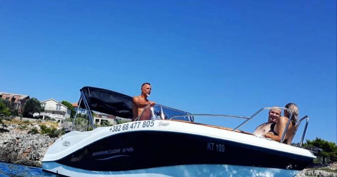 Location yacht à Lepetani - Okiboats Baracuda 545 sur SamBoat