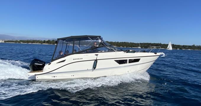 Louez un Quicksilver Activ 805 Cruiser à Mandelieu-la-Napoule