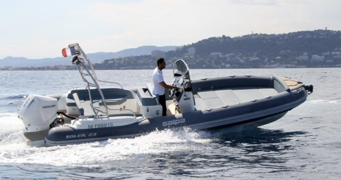Salpa Salpa Soleil 23 entre particuliers et professionnel à Antibes