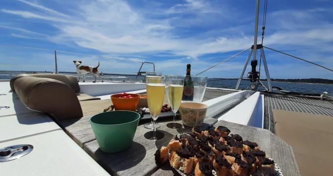 Louer Catamaran avec ou sans skipper Nautitech à Arcachon