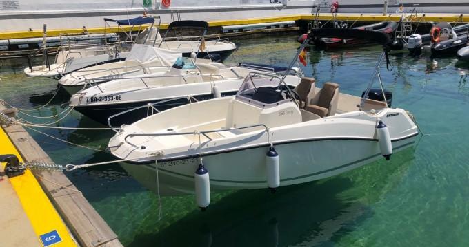 Location bateau Lloret de Mar pas cher Activ 555 Open