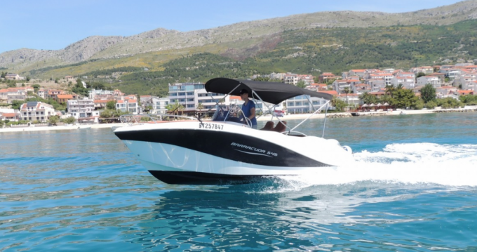Location bateau Barracuda 545 à Podstrana sur Samboat