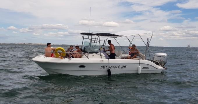 Location bateau Sessa Marine Key Largo 25 à Palavas-les-Flots sur Samboat