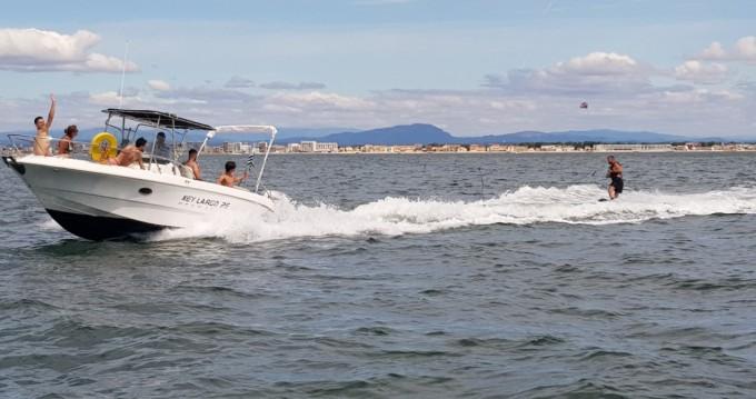Location Bateau à moteur Sessa Marine avec permis