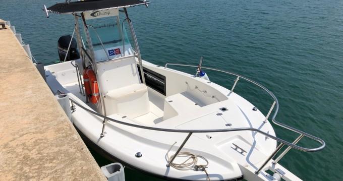 Location bateau Fishing Raptor 240 à Coma-ruga sur Samboat