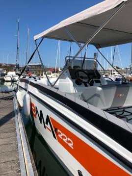 Location Bateau à moteur à La Rochelle - BMA BMA X222
