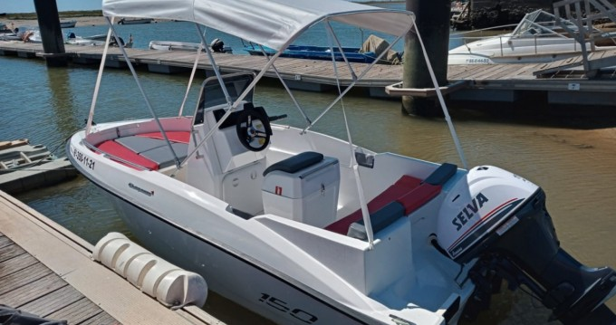 Location bateau Compass Compass 150 CC à Lepe sur Samboat