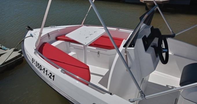 Location bateau Lepe pas cher Compass 150 CC