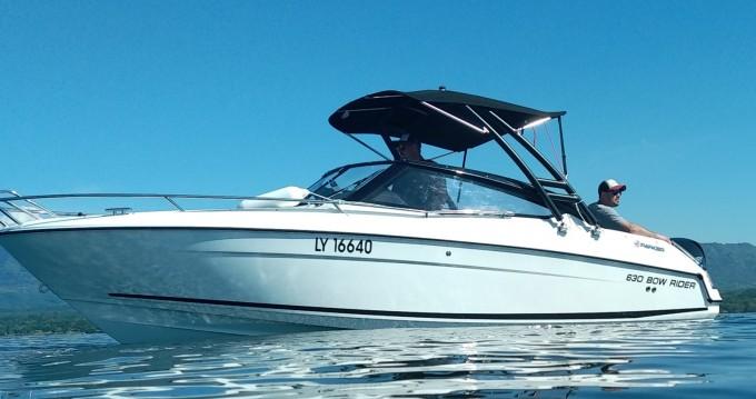 Location bateau Parker 630 bowrider  à Sciez sur Samboat