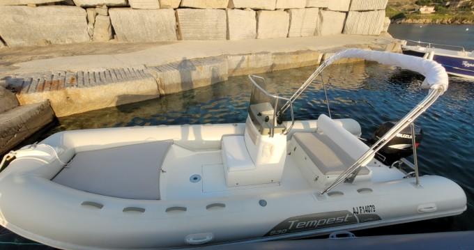 Location bateau Capelli Tempest 530 à Algajola sur Samboat