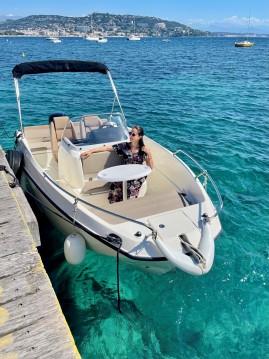 Location yacht à Mandelieu-la-Napoule - Quicksilver Quicksilver 555 Open sur SamBoat