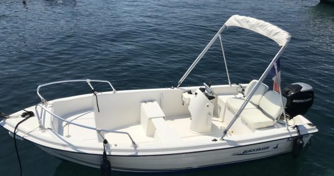 Location bateau Quicksilver Quicksilver 440 Fish à Cannes sur Samboat