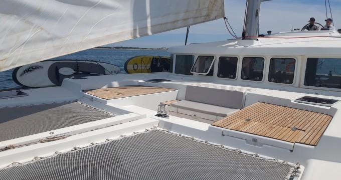 Location bateau Porto-Vecchio pas cher Lagoon 500