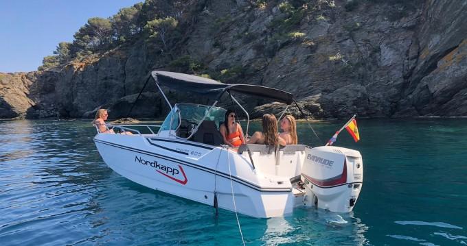 Location bateau Nordkapp Enduro 605 à Roses sur Samboat