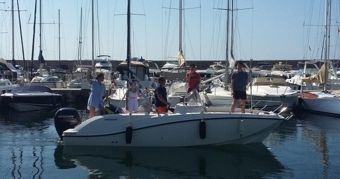 Location bateau Sainte-Maxime pas cher Cap Ferret 650 Open