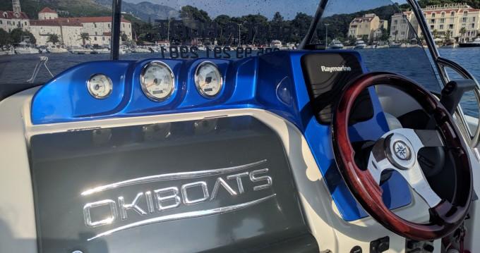 Okiboats Barracuda 545 Open entre particuliers et professionnel à Makarska