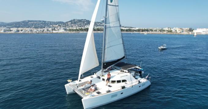Location bateau Lagoon Lagoon 380 à Cannes sur Samboat