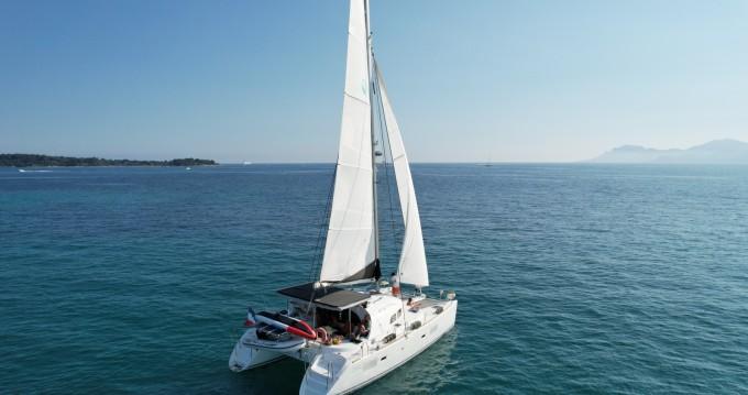 Location bateau Cannes pas cher Lagoon 380
