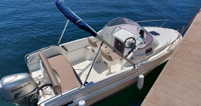 Location bateau L'Estaque pas cher Cap Ferret 552 Sun Deck