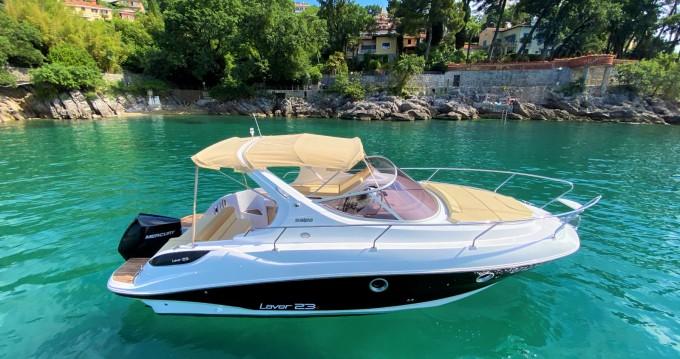 Location bateau Ičići pas cher Laver 23X