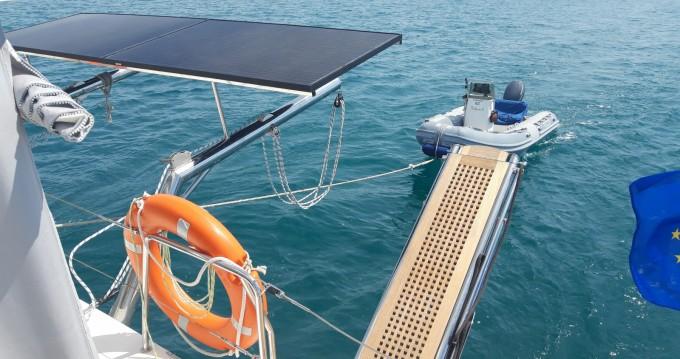 Location bateau Ajaccio pas cher Lagoon 500
