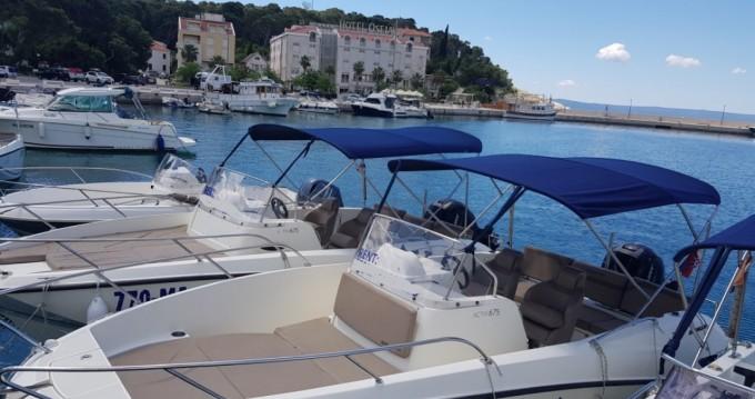 Location yacht à Makarska - Quicksilver Activ 675 Open sur SamBoat