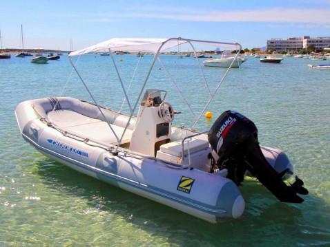 Zodiac cherokee 480 entre particuliers et professionnel à Formentera