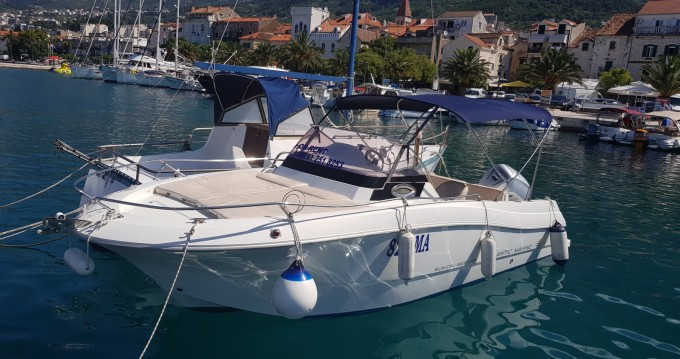 Location bateau Atlantic 655 Sun Cruiser à Makarska sur Samboat