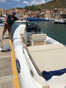 Location bateau Porto Ercole pas cher GS 33