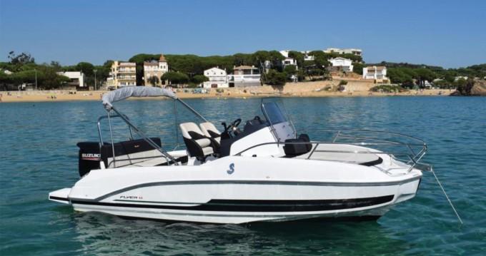 Location bateau Blanes pas cher Flyer 5.5 SUNdeck