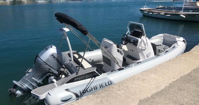 Highfield Highfield Sport 560 entre particuliers et professionnel à Otok Rab