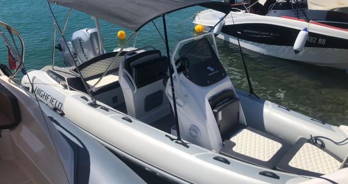 Location yacht à Otok Rab - Highfield Highfield Sport 560 sur SamBoat