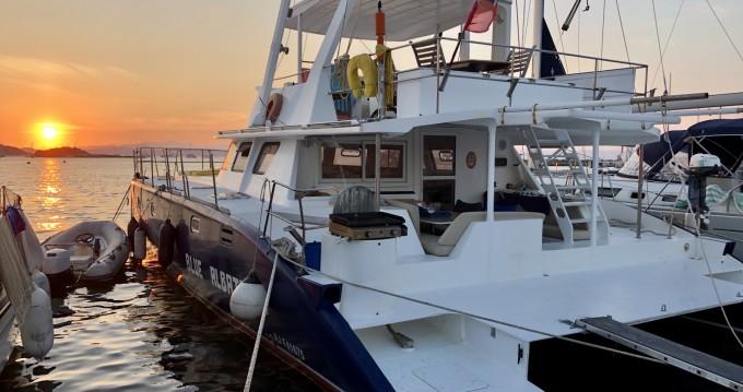 Location Catamaran Tropic Composites avec permis