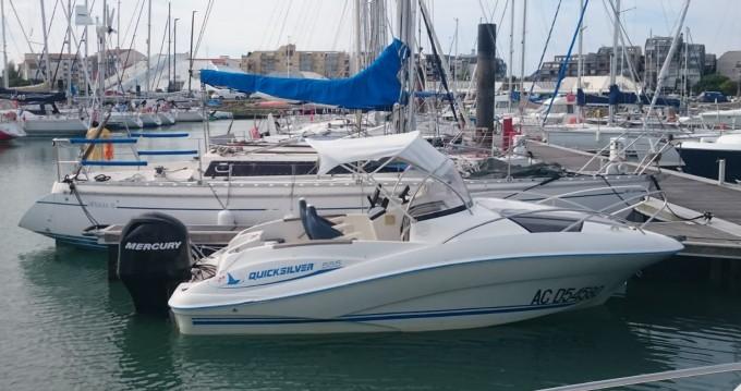 Location bateau Quicksilver Activ 555 Cabin à Martigues sur Samboat