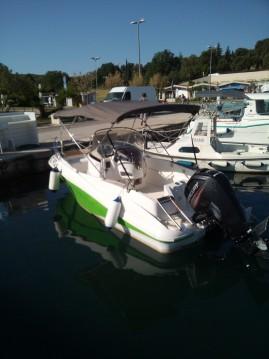 Location bateau Quicksilver Commander 555 à Vrsar sur Samboat