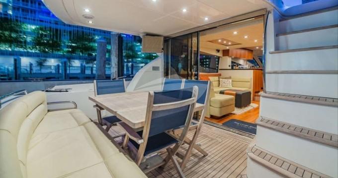 Location Yacht à South Miami Beach - Sunseeker Manhattan 70