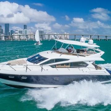 Location bateau Sunseeker Manhattan 70 à South Miami Beach sur Samboat