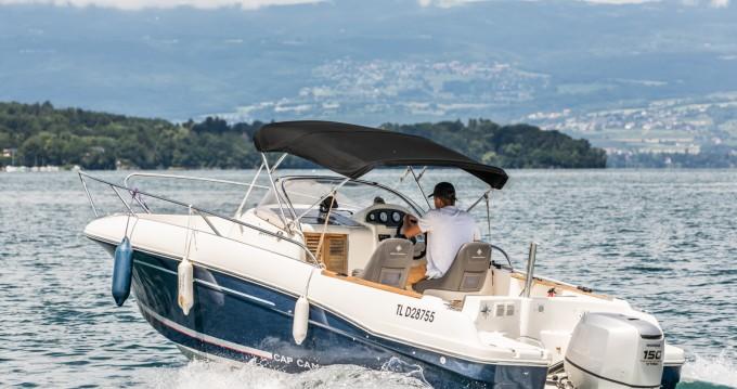 Location bateau Sciez pas cher Cap Camarat 6.5 WA