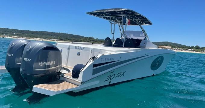 Location bateau Cogolin pas cher Pacific Craft 30 RX