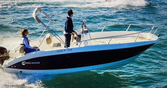 Location bateau Blanes pas cher IDEA 58