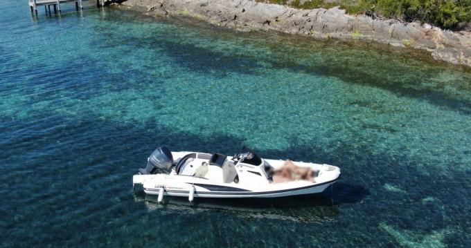 Location bateau Lomac Adrenalina 7.0 à Port Cogolin sur Samboat