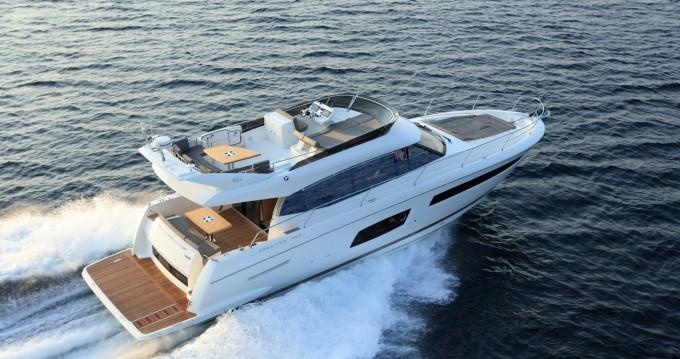 Location yacht à Beaulieu-sur-Mer - Jeanneau Prestige 560 sur SamBoat