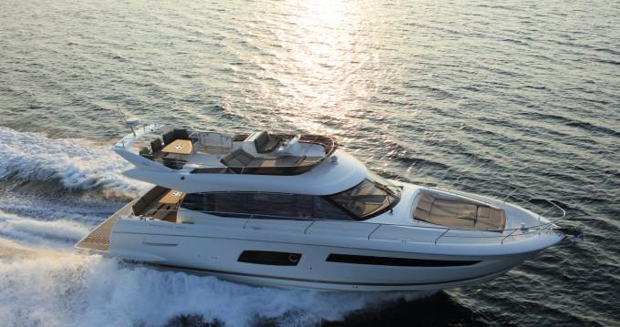 Location Yacht à Beaulieu-sur-Mer - Jeanneau Prestige 560