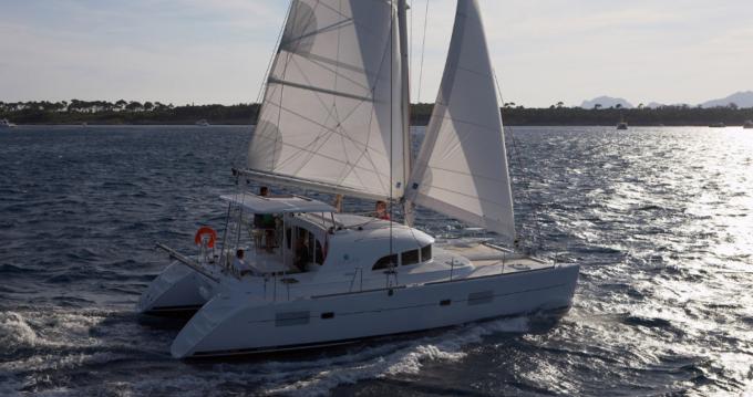 Catamaran à louer à Mahé au meilleur prix