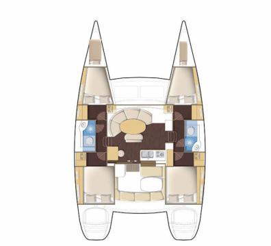 Louer Catamaran avec ou sans skipper Lagoon à Mahé