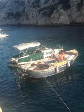 Louer Bateau à moteur avec ou sans skipper Nauticard Diruocco Maggimo à Cassis