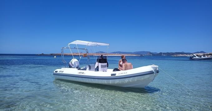 Location Semi-rigide à Île d'Ibiza - Selva Evolution D.570