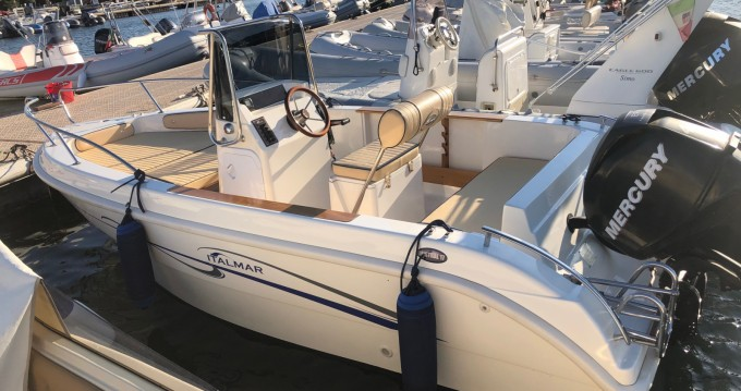 Location bateau Italmar 17 open  à Porto Pozzo sur Samboat