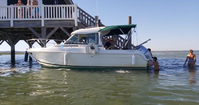 Location yacht à Arcachon - Jeanneau Merry Fisher 625 HB sur SamBoat